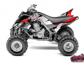 Kit Déco Quad Factory Yamaha 700 Raptor Rouge