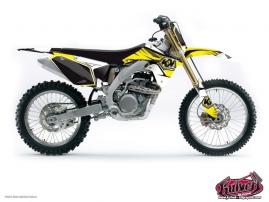 Suzuki 85 RM Dirt Bike Factory Graphic Kit