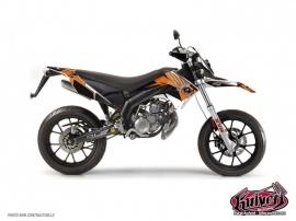 Kit Déco 50cc Factory Derbi DRD Xtreme Orange