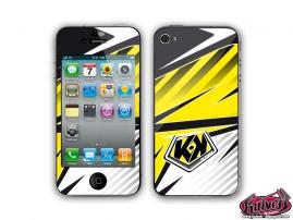 Kit Déco iPhone 3GS Factory Jaune