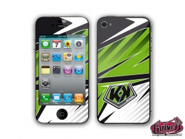 Kit Déco iPhone 4 Factory Vert