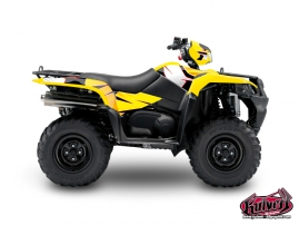 Suzuki King Quad 750 ATV Factory Graphic Kit