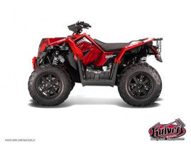 Kit Déco Quad Factory Polaris Scrambler 850-1000 XP Rouge FULL