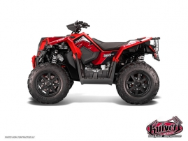 Kit Déco Quad Factory Polaris Scrambler 850-1000 XP Rouge