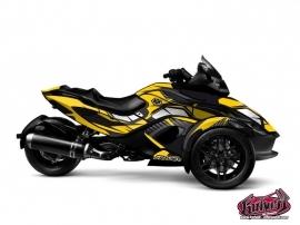 Kit Déco Factory Can Am Spyder RS Jaune