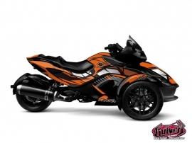 Kit Déco Factory Can Am Spyder RS Orange