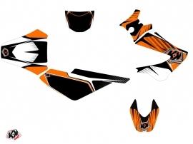 Kit Déco 50cc Factory Derbi Xtreme / Xrace Orange