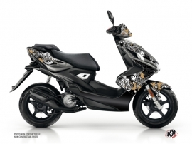 Yamaha Aerox Scooter Fashion Graphic Kit Gold