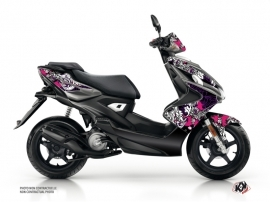 Yamaha Aerox Scooter Fashion Graphic Kit Pink