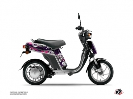 Kit Déco Scooter Fashion Yamaha Eco-3 Rose