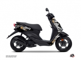 Kit Déco Scooter Fashion MBK Ovetto Gold