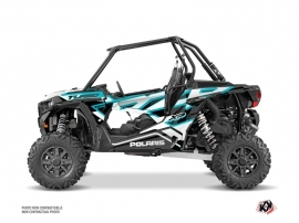 Kit Déco SSV Faster Polaris RZR 1000 Turbo Blanc Bleu