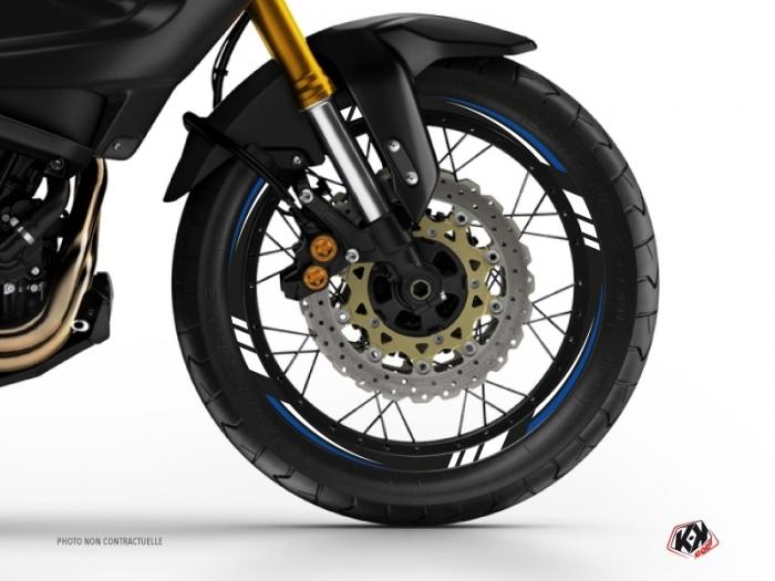 kit d co tour de jantes moto trail adventure yamaha xtz 1200 super t n r noir bleu kutvek kit. Black Bedroom Furniture Sets. Home Design Ideas