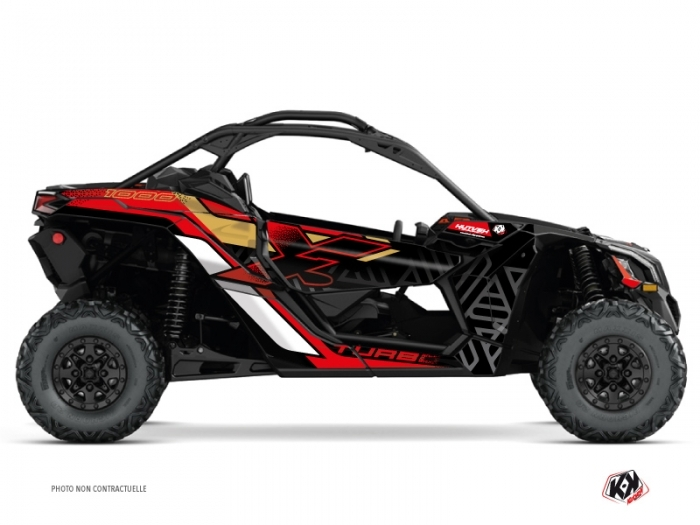 Kit Déco SSV Alpha Can Am Maverick X3 Gold