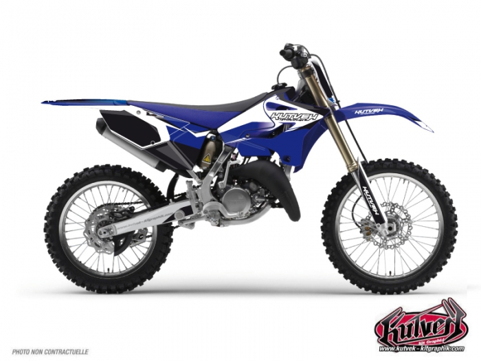 Yamaha 250 YZ Dirt Bike Assault Graphic Kit
