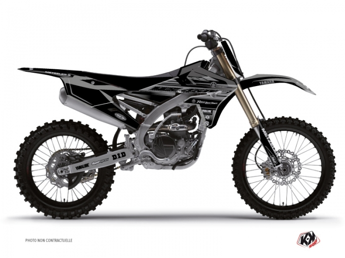 Kit Déco Moto Cross Black Matte Yamaha 450 YZF Noir
