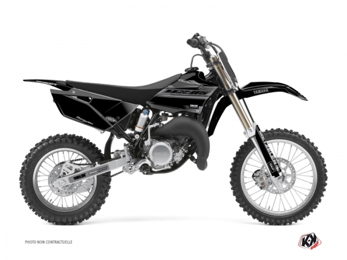Kit Déco Moto Cross Black Matte Yamaha 85 YZ Noir