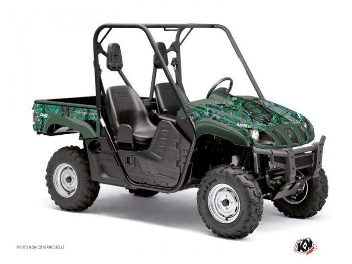 Yamaha Rhino UTV Camo Graphic Kit Green