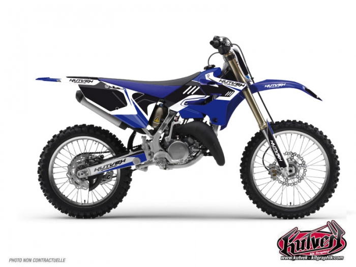Yamaha 125 YZ Dirt Bike Chrono Graphic Kit