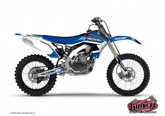 Yamaha 450 YZF Dirt Bike Chrono Graphic Kit