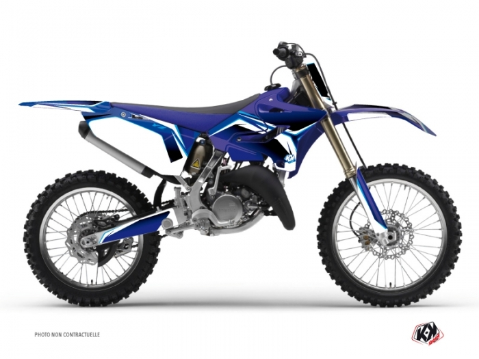 Yamaha 250 YZ Dirt Bike Concept Graphic Kit Blue