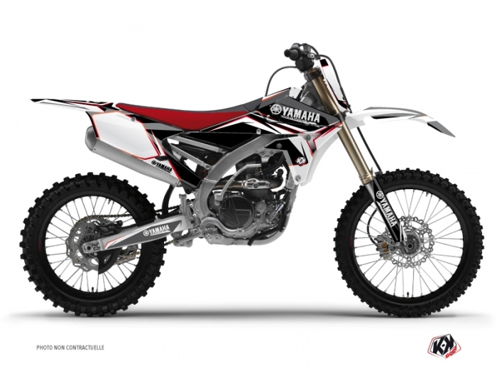 kit d co moto cross concept yamaha 450 yzf rouge kutvek kit graphik. Black Bedroom Furniture Sets. Home Design Ideas
