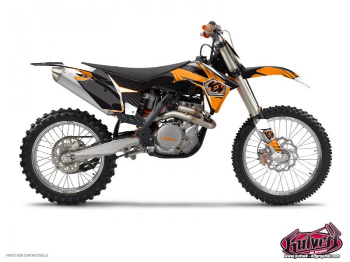 Kit Déco Moto Cross Factory KTM 65 SX