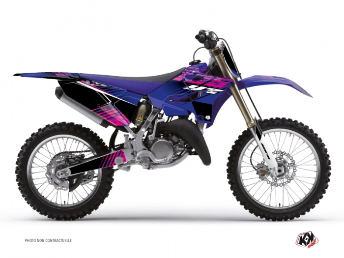 Kit Déco Moto Cross Flow Yamaha 250 YZ Rose