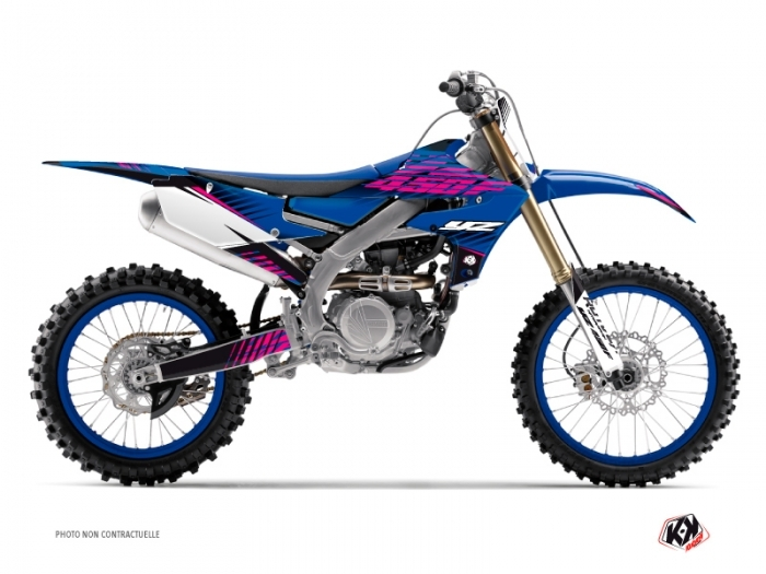 Yamaha 450 YZF Dirt Bike Flow Graphic Kit Pink