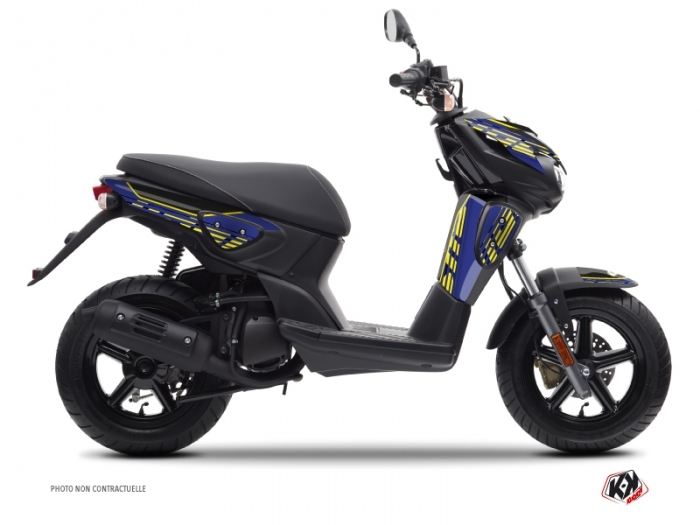 Kit Déco Scooter Flow Yamaha Slider Jaune