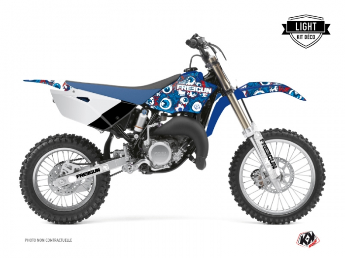 Yamaha 85 YZ Dirt Bike Freegun Eyed Graphic Kit Red LIGHT