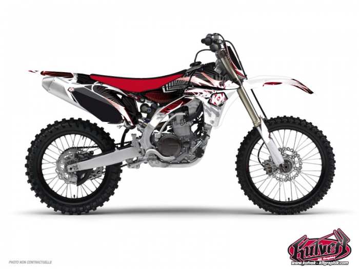 Kit Déco Moto Cross Graff Yamaha 250 YZ Rouge
