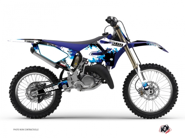 Yamaha 250 YZ Dirt Bike Hangtown Graphic Kit Blue