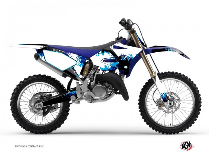 Kit Déco Moto Cross Hangtown Yamaha 250 YZ Bleu