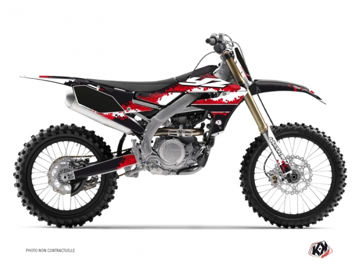 Kit Déco Moto Cross Hangtown Yamaha 250 YZF Rouge