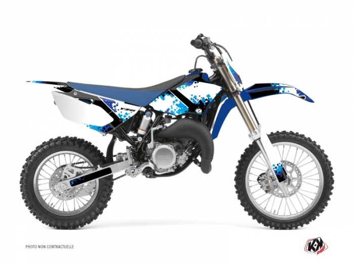 Kit Déco Moto Cross Hangtown Yamaha 85 YZ Bleu