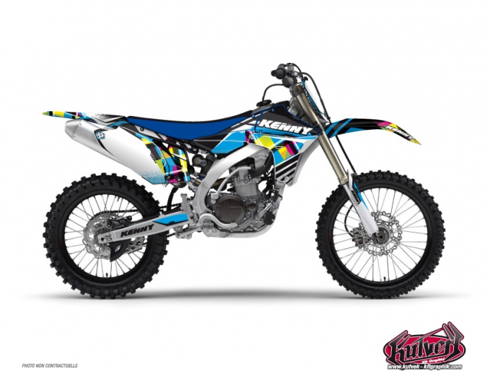 Yamaha 85 YZ Dirt Bike Kenny Graphic Kit