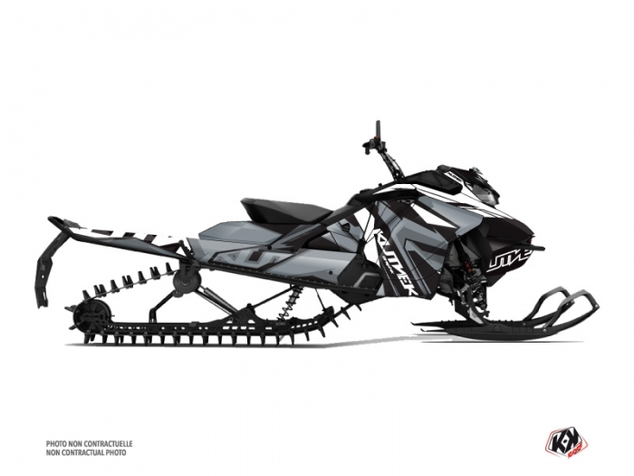 Skidoo Gen 4 Snowmobile Klimb Graphic Kit White
