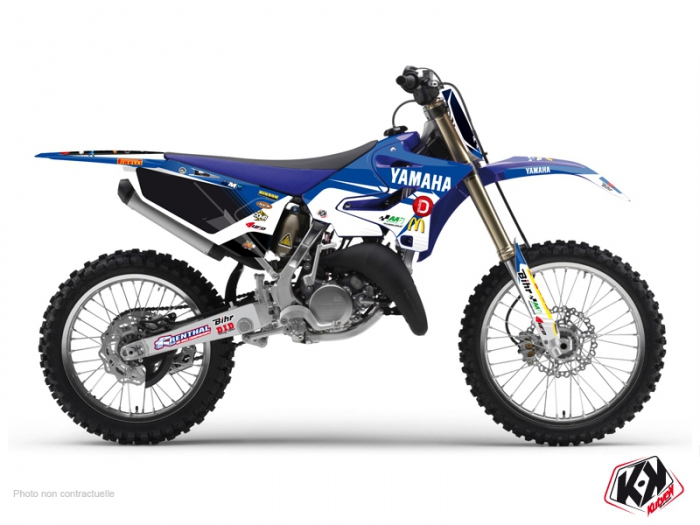 Yamaha 250 YZF Dirt Bike Replica Team Pichon Graphic Kit 2015