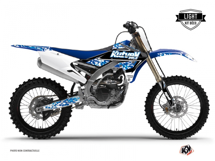 Yamaha 250 YZF Dirt Bike Predator Graphic Kit Blue LIGHT