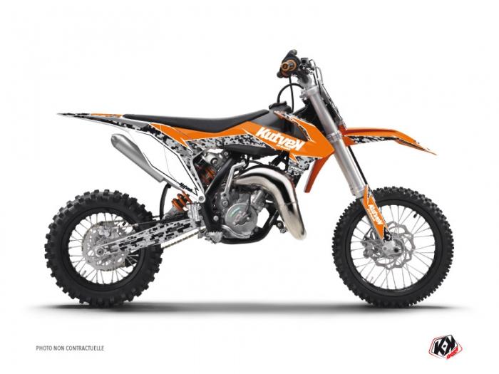 kit dco moto cross predator ktm 50 sx orange