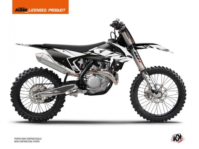 kit d co moto cross reflex ktm 125 sx blanc kutvek kit graphik. Black Bedroom Furniture Sets. Home Design Ideas