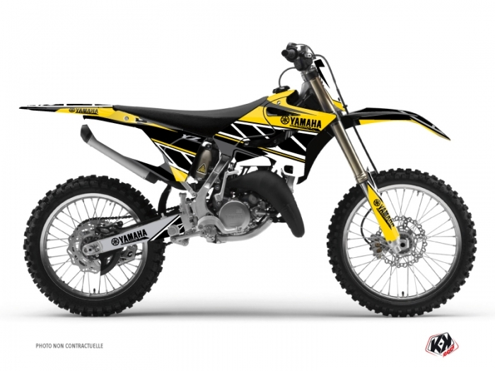 Kit Déco Moto Cross Replica Yamaha 250 YZ Jaune