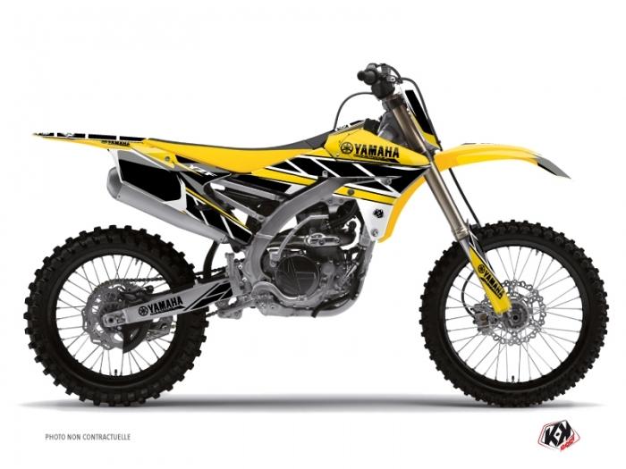 Kit D 233 Co Moto Cross Replica Yamaha 250 Yzf Jaune Kutvek