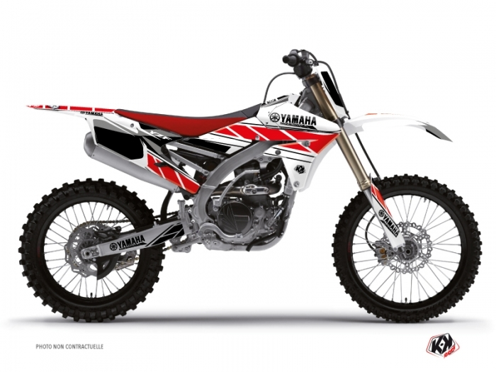 Yamaha 250 YZF Dirt Bike Replica Graphic Kit Red