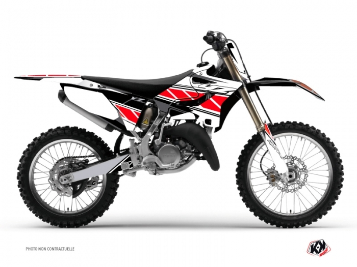 Kit Déco Moto Cross Replica Yamaha 250 YZ Rouge