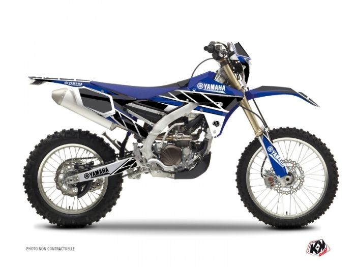Kit Déco Moto Cross Replica Yamaha 450 WRF Bleu