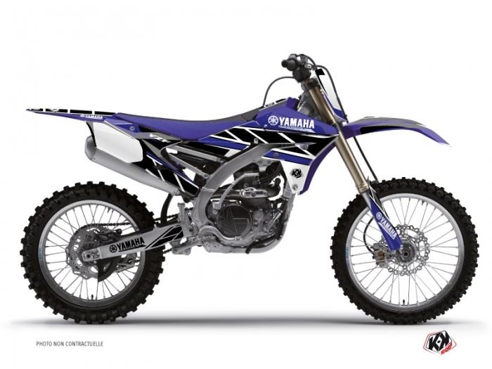 kit d co moto cross replica yamaha 450 yzf bleu kutvek kit graphik. Black Bedroom Furniture Sets. Home Design Ideas