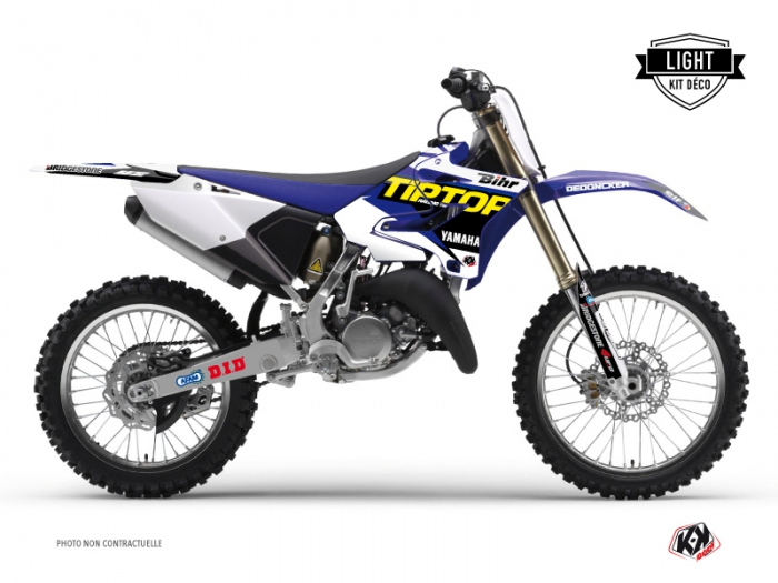Yamaha 125 YZ Dirt Bike Replica Team Tip Top Graphic Kit LIGHT