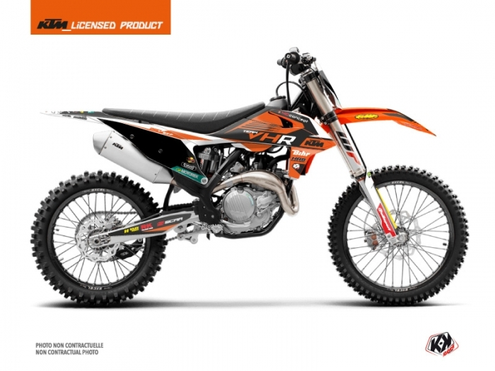 Kit Déco Moto Cross Replica Tixier Team VHR 2018-2019 KTM 250 SXF
